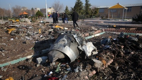 The Overwhelming Visibility of the Iran Plane Crash
