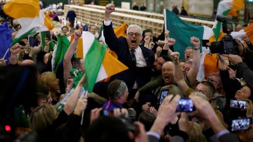 Ireland's Nationalist Party Breaks Through