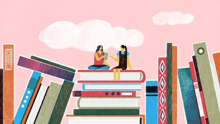 A Teen-Run Book Charity and the Friendship It Built