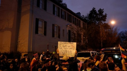 Left-Wing Protests Are Crossing the Line