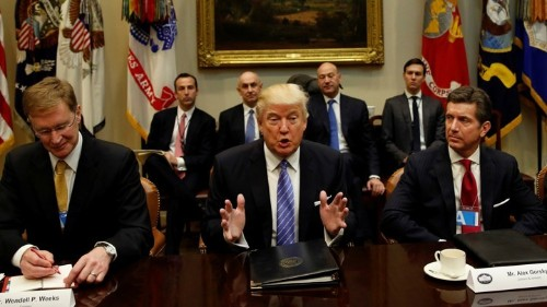The CEOs Revolting Against Trump's Travel Ban
