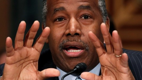 Watchdog: Ben Carson's Table Spending Broke the Law
