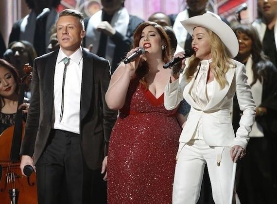 The Grammys' Big Gay Wedding for Straight Superstars
