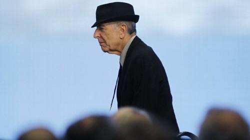 Leonard Cohen Never Left Earth