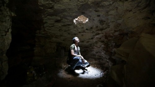 How Getting Lost in a Cave Affects the Brain