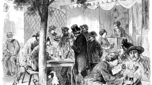How the Beer Garden Came to Be