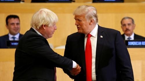 As London Mayor, Boris Johnson Repeatedly Insulted Trump