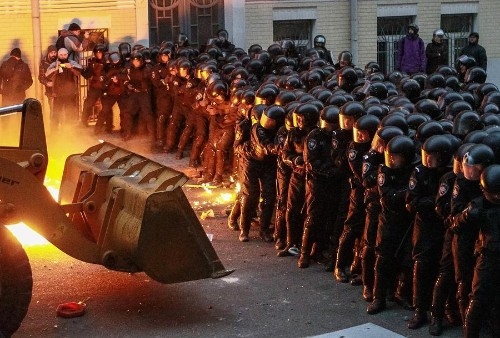 Days of Protest in Ukraine
