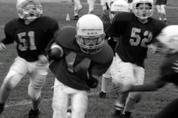 The Questionable Ethics of Teaching My Son to Love Pro Football