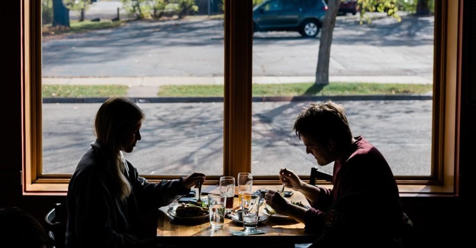 Don't Eat Inside a Restaurant