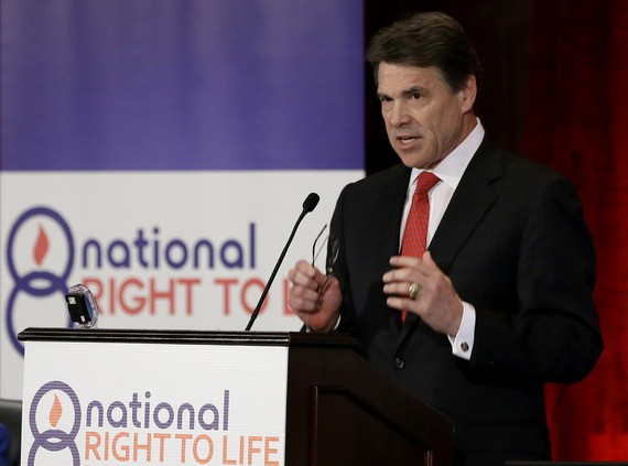 Rick Perry, Mansplainer in Chief