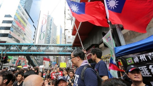 Anti-China Bonds Between Hong Kong and Taiwan Are Growing