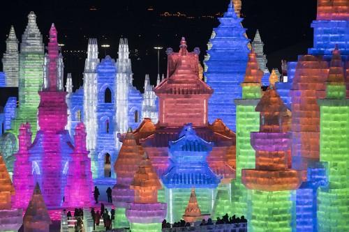 Photos of the 2019 Harbin Ice and Snow Festival
