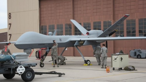 A Rare Look Inside the Air Force's Drone Training Classroom