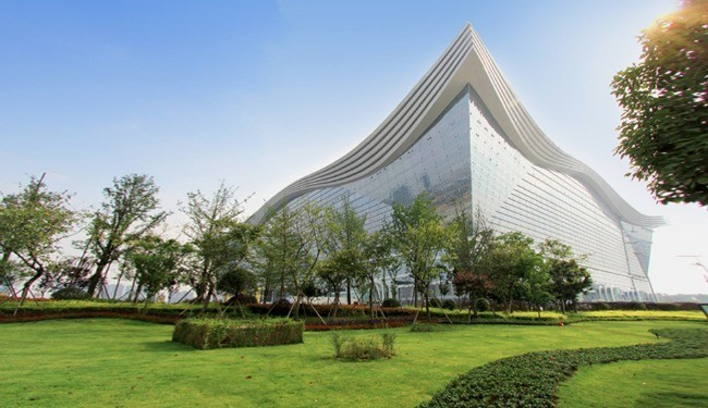 The World's Largest Building, of Course, Is Now in China