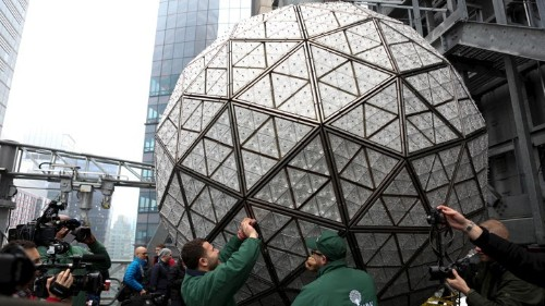 Why NYC Drops an 11,875 Pound Ball on New Year's Eve