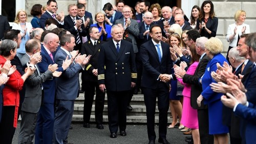 Ireland's New Prime Minister Assumes Office