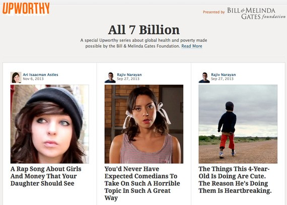Upworthy: I Thought This Website Was Crazy, but What Happened Next Changed Everything