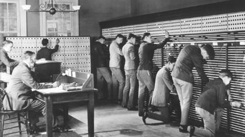 When Phone Operators Were Unruly Teenage Boys