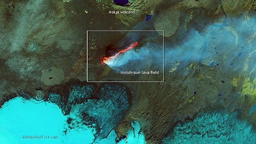 Lava From Space