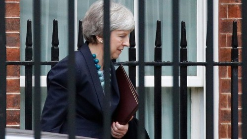 Theresa May Is Running Out of Options