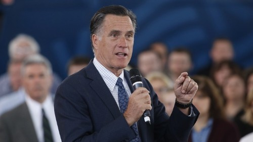 Romney Is Already Being Considered for a Republican Leadership Position