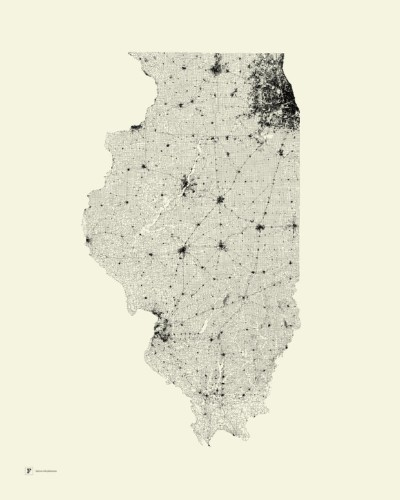 You'd Never Know From These Beautiful Maps That U.S. Infrastructure Is Crumbling