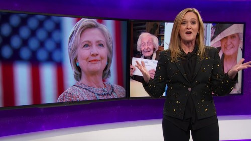 Samantha Bee Makes the Case for Clinton