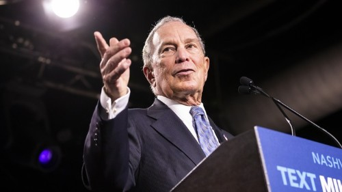 Why Callout Culture Helps Mike Bloomberg