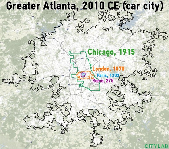 CityLab Daily: The One Weird Rule That Explains Urban Sprawl