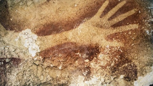 Confirmed: The Oldest Known Art in the World Is Spray-Painted Graffiti