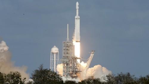 A Triumphant First Launch for Elon Musk's Giant Rocket