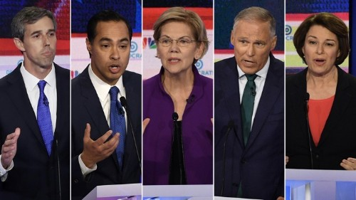 Democrats Discuss Abortion in First 2020 Debate