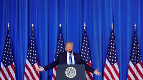 'If You Want, I'll Go On': Trump's Rambling News Conference