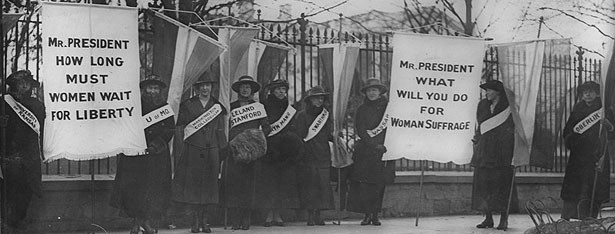 'Vote No on Women's Suffrage': Bizarre Reasons For Not Letting Women Vote