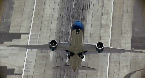 'Wow': Boeing Plane Moves Down the Runway, Then Takes Off in a Way You've Likely Never Seen Before