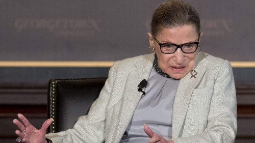 SCOTUS Justice Ruth Bader Ginsburg laments over recent Dem obstruction in Senate