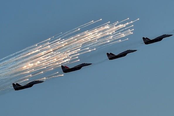Officials: Russian Jets Intercept Several U.S. Drones Over Syria