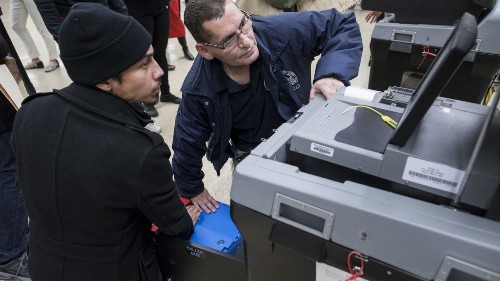 Voting machines recorded too many votes in over one third of Detroit's precincts