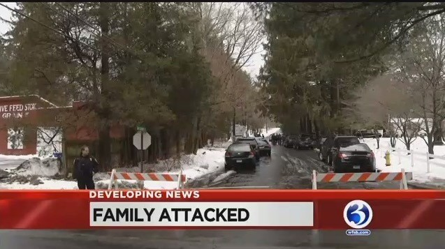 Horror in Connecticut Suburb as Partner at NY Law Firm Brutally Attacks His 'Nice' Family Before Being Fatally Shot by Police