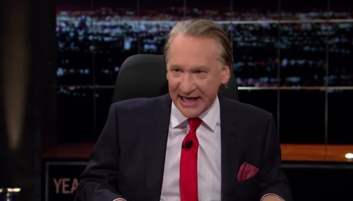 Watch Liberal Actor's Reaction When Bill Maher Uses Word 'They' When Talking About Black People During Tense Race Debate