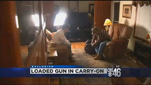 Passenger Claims He Flew From Atlanta to Chicago With a Loaded Gun in His Backpack