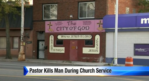 Detroit Pastor Pulls Out Glock, Opens Fire on Alleged Attacker in Middle of Church Service — Here Are the Details