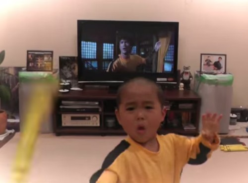 'Surprised?': When You Realize What's on the TV Behind Him, You'll Instantly Understand Why This Five-Year-Old Is Going Viral