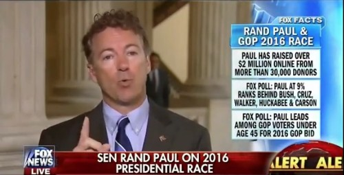 Rand Paul Hits Back Hard at Two Foreign Policy 'Lapdogs' for Obama…in His Own Party