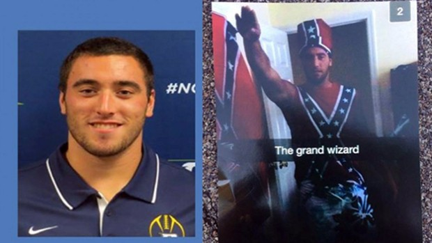 College Football Captain Was Suspended From Team After This 'Highly Offensive' Photo Surfaced