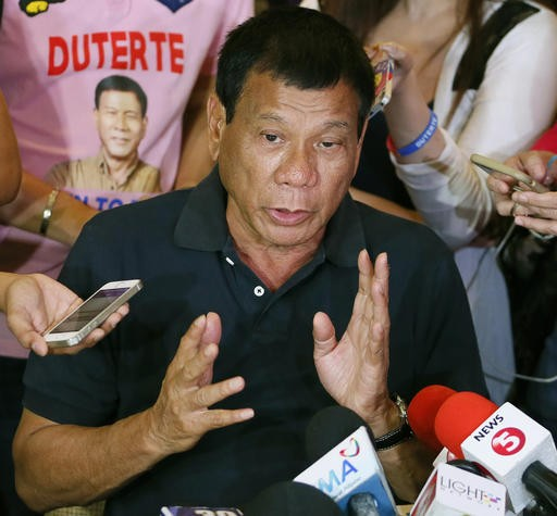 Newly Elected Philippine President Urges Public to Kill Drug Dealers