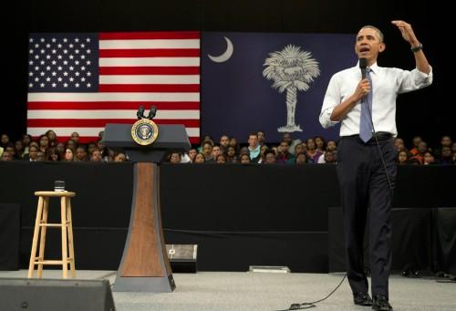 Obama Says 'You Think I'm Exaggerating' on Guns. Fact Checker Says…