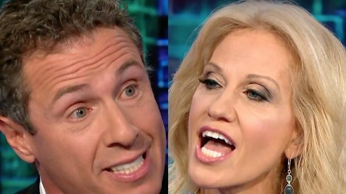CNN debate goes off the rails as Kellyanne Conway lays into Chris Cuomo