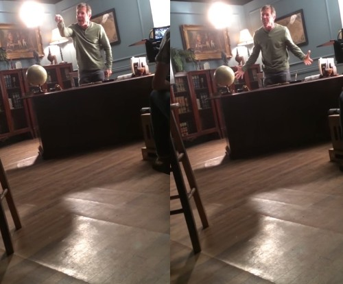 Hollywood Actor Caught on Video Going on Insane, Profane Rant on Set: 'This Is Garbage!'
